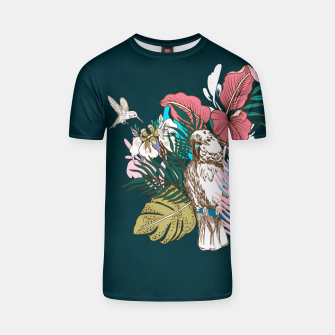 Thumbnail image of Birds jungle paradise Camiseta, Live Heroes