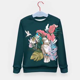 Thumbnail image of Birds jungle paradise Sudadera para niños, Live Heroes