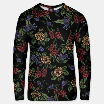 Thumbnail image of Vintage Florals Unisex sweater, Live Heroes