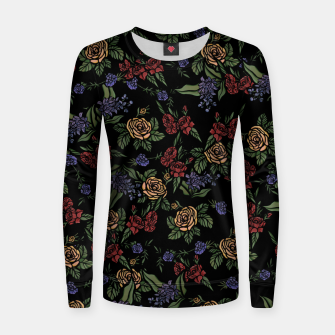 Thumbnail image of Vintage Florals Women sweater, Live Heroes