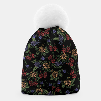 Thumbnail image of Vintage Florals Beanie, Live Heroes