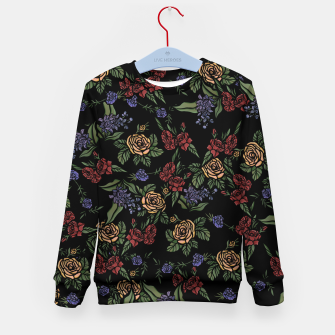 Thumbnail image of Vintage Florals Kid's sweater, Live Heroes