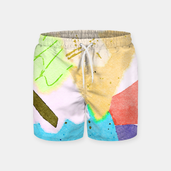 Thumbnail image of Dumpweed Swim Shorts, Live Heroes