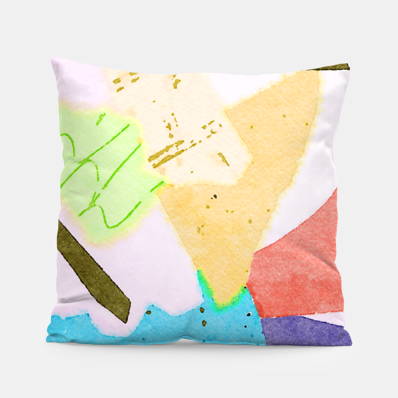 Image of Dumpweed Pillow - Live Heroes