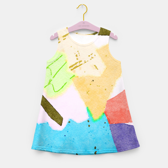 Thumbnail image of Dumpweed Girl's summer dress, Live Heroes