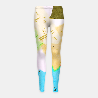 Thumbnail image of Dumpweed Girl's leggings, Live Heroes