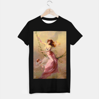 Thumbnail image of The Swing by Edouard Bisson Old Master Reproduction T-shirt regular, Live Heroes