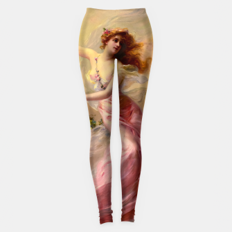 Thumbnail image of The Swing by Edouard Bisson Old Master Reproduction Leggings, Live Heroes