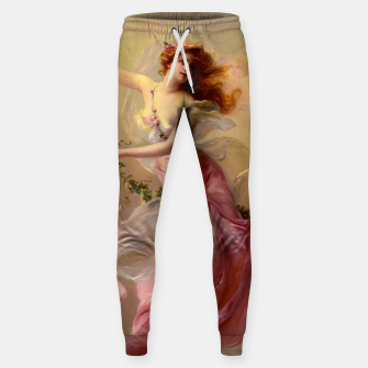 Thumbnail image of The Swing by Edouard Bisson Old Master Reproduction Sweatpants, Live Heroes