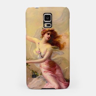 Thumbnail image of The Swing by Edouard Bisson Old Master Reproduction Samsung Case, Live Heroes