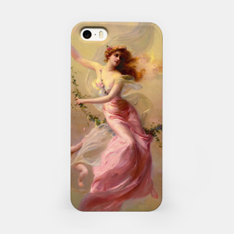 Thumbnail image of The Swing by Edouard Bisson Old Master Reproduction iPhone Case, Live Heroes