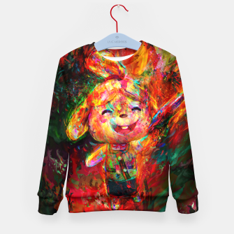 Thumbnail image of animal crosing Kid's sweater, Live Heroes