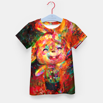 Thumbnail image of animal crosing Kid's t-shirt, Live Heroes