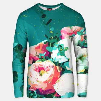 Thumbnail image of Floral & Confetti Unisex sweater, Live Heroes