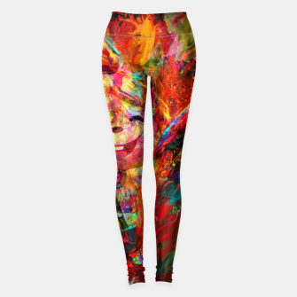 Miniaturka animal crosing Leggings, Live Heroes