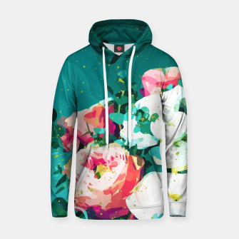 Thumbnail image of Floral & Confetti Hoodie, Live Heroes