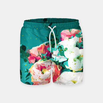 Thumbnail image of Floral & Confetti Swim Shorts, Live Heroes
