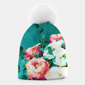 Thumbnail image of Floral & Confetti Beanie, Live Heroes