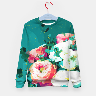 Thumbnail image of Floral & Confetti Kid's sweater, Live Heroes