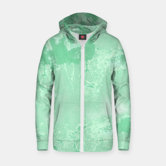 Thumbnail image of Sea Green Summer Zip up hoodie, Live Heroes