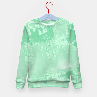 Thumbnail image of Sea Green Summer Kid's sweater, Live Heroes
