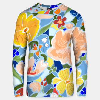 Summery Floral Unisex sweater thumbnail image