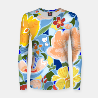 Summery Floral Women sweater thumbnail image