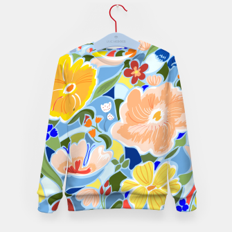 Summery Floral Kid's sweater thumbnail image
