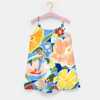 Summery Floral Girl's dress thumbnail image