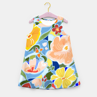 Summery Floral Girl's summer dress thumbnail image