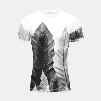 Thumbnail image of Underwater Leaves Vibes #5 #decor #art  Shortsleeve rashguard, Live Heroes