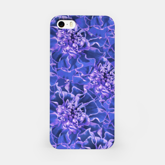 Thumbnail image of Vibrant Blue Flowers Pattern Motif iPhone Case, Live Heroes