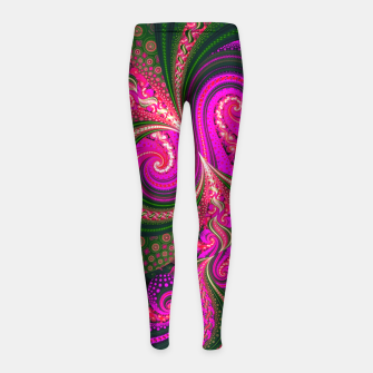 Miniatur BACKGROUND 8 Girl's leggings, Live Heroes