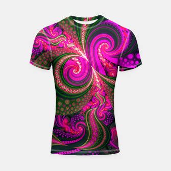 BACKGROUND 8 Shortsleeve rashguard Bild der Miniatur