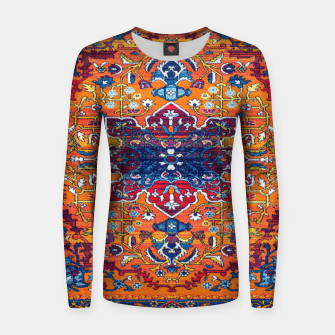 Thumbnail image of Vintage Berber Moroccan Epic Heritage Artwork. Women sweater, Live Heroes