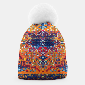 Thumbnail image of Vintage Berber Moroccan Epic Heritage Artwork. Beanie, Live Heroes