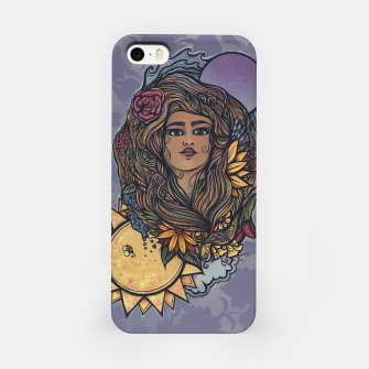 Miniatur Gaia Goddess Druid Earth Mother  iPhone Case, Live Heroes