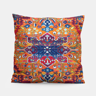 Thumbnail image of Vintage Berber Moroccan Epic Heritage Artwork. Pillow, Live Heroes