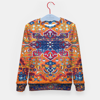 Thumbnail image of Vintage Berber Moroccan Epic Heritage Artwork. Kid's sweater, Live Heroes