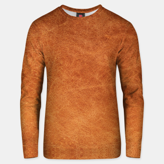Thumbnail image of Original Moroccan Camel Leather Texture. Unisex sweater, Live Heroes