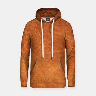 Thumbnail image of Original Moroccan Camel Leather Texture. Hoodie, Live Heroes