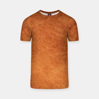 Thumbnail image of Original Moroccan Camel Leather Texture. T-shirt, Live Heroes