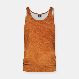 Thumbnail image of Original Moroccan Camel Leather Texture. Tank Top, Live Heroes