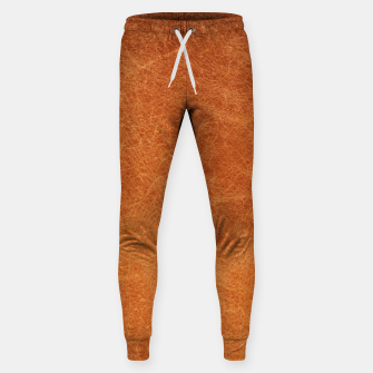 Thumbnail image of Original Moroccan Camel Leather Texture. Sweatpants, Live Heroes