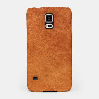 Thumbnail image of Original Moroccan Camel Leather Texture. Samsung Case, Live Heroes