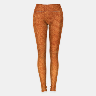 Thumbnail image of Original Moroccan Camel Leather Texture. Leggings, Live Heroes