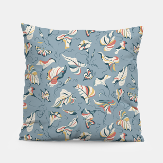 Thumbnail image of Moonflower Moth Dance in the Moon Light  Pillow, Live Heroes