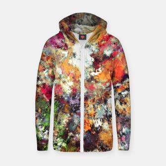 Thumbnail image of Weathering the storm Zip up hoodie, Live Heroes
