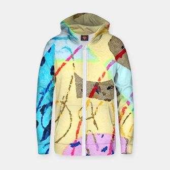Thumbnail image of Cheerful Zip up hoodie, Live Heroes