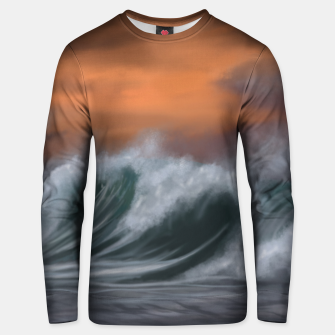 Thumbnail image of Moody Waves Unisex sweater, Live Heroes